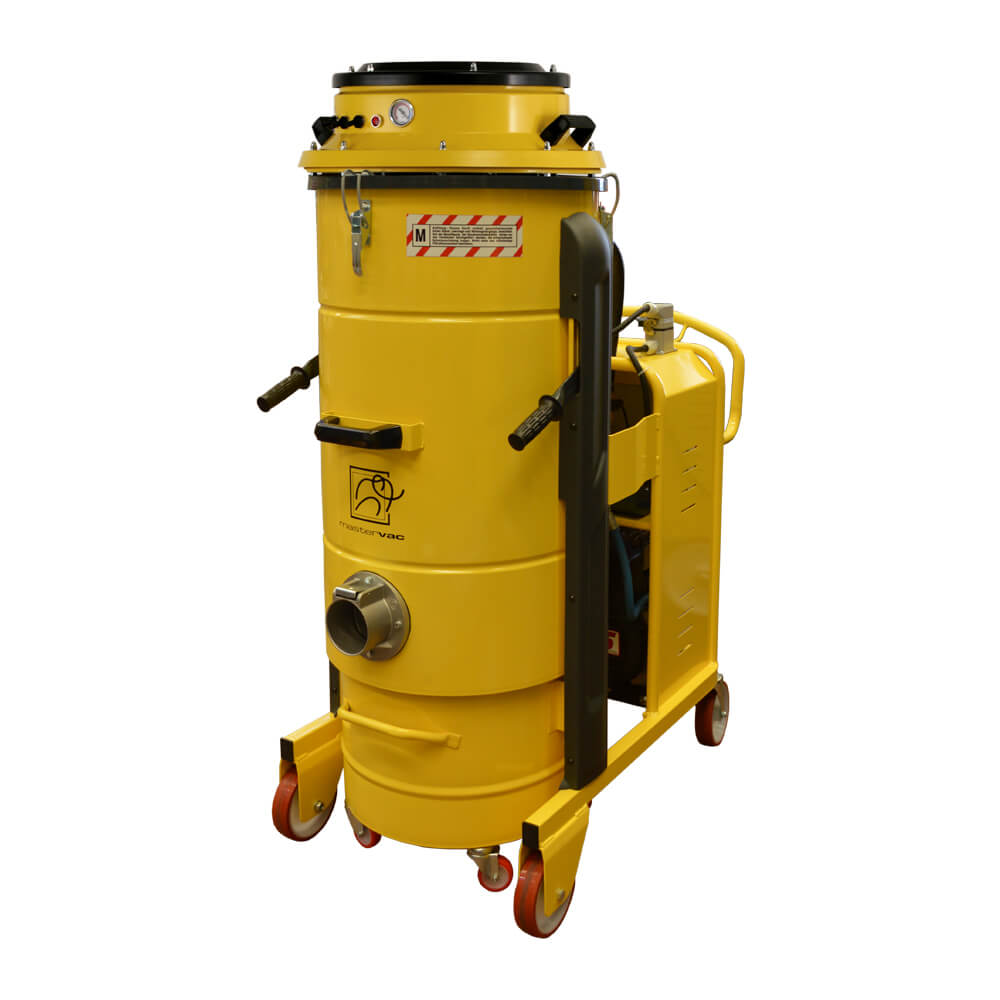 Индустриална прахосмукачка за изсмукване на прах, твърди частици и течности Mastervac M450 PN