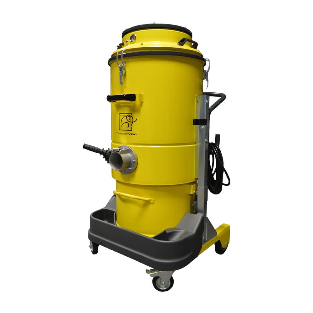 Индустриална прахосмукачка за изсмукване на прах, твърди частици и течности Mastervac M450 S
