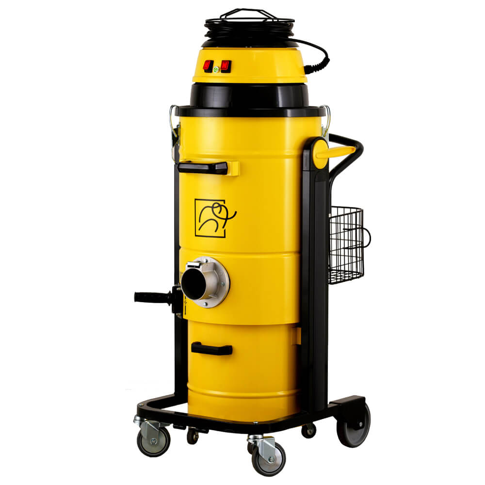 Индустриална прахосмукачка за изсмукване на прах, твърди частици и течности Mastervac M 235 S