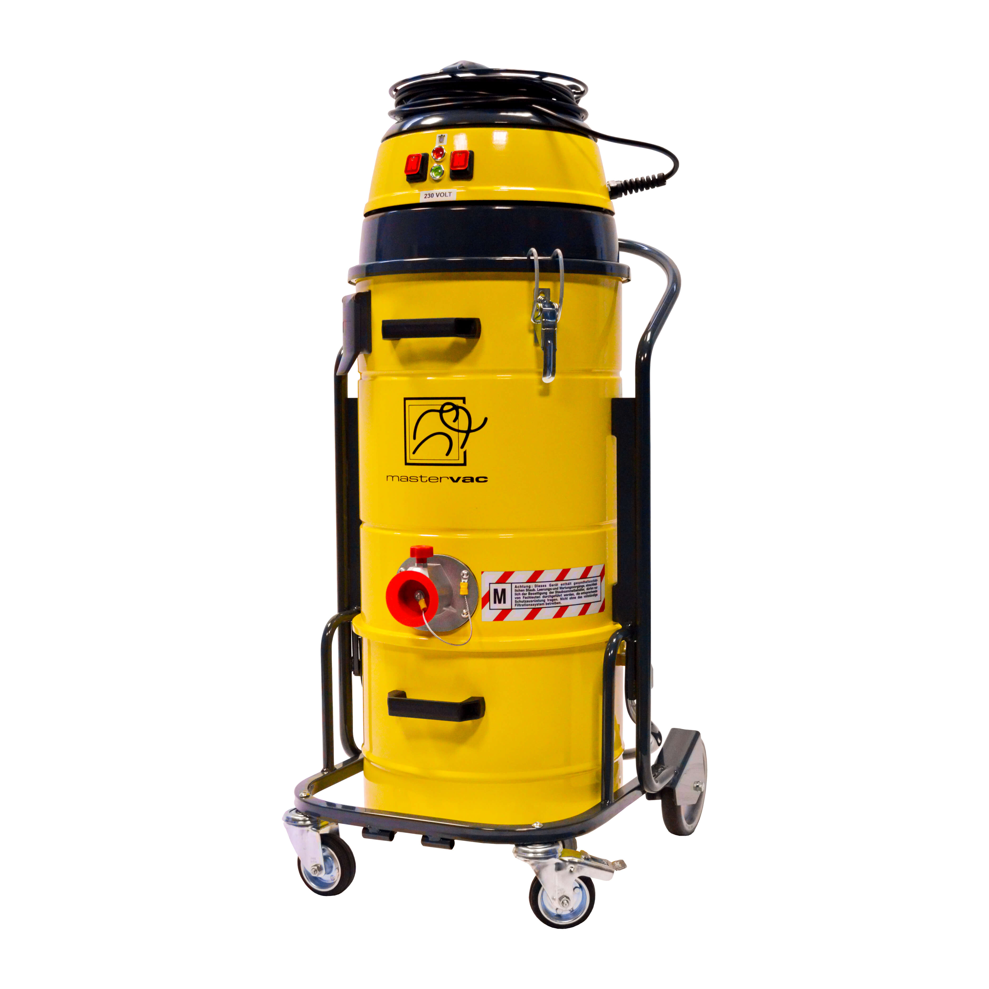 Индустриална прахосмукачка за изсмукване на прах Mastervac M 220 S