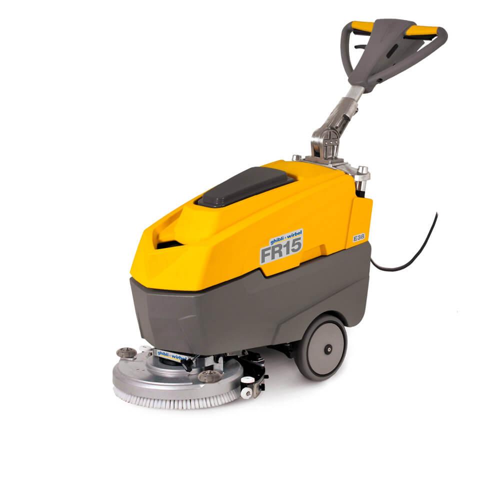 """Професионален миещ автомат с кабел за твърди настилки """"GHIBLI FRECCIA 15 Е 38"""" НА КАБЕЛ"""