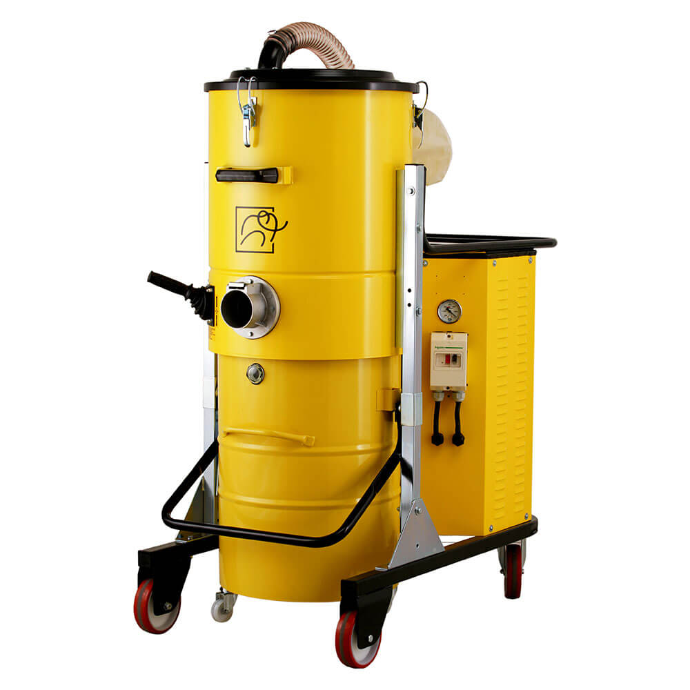 Индустриална трифазна  прахосмукачка за прах, течности и твърди частици Mastervac TS 300