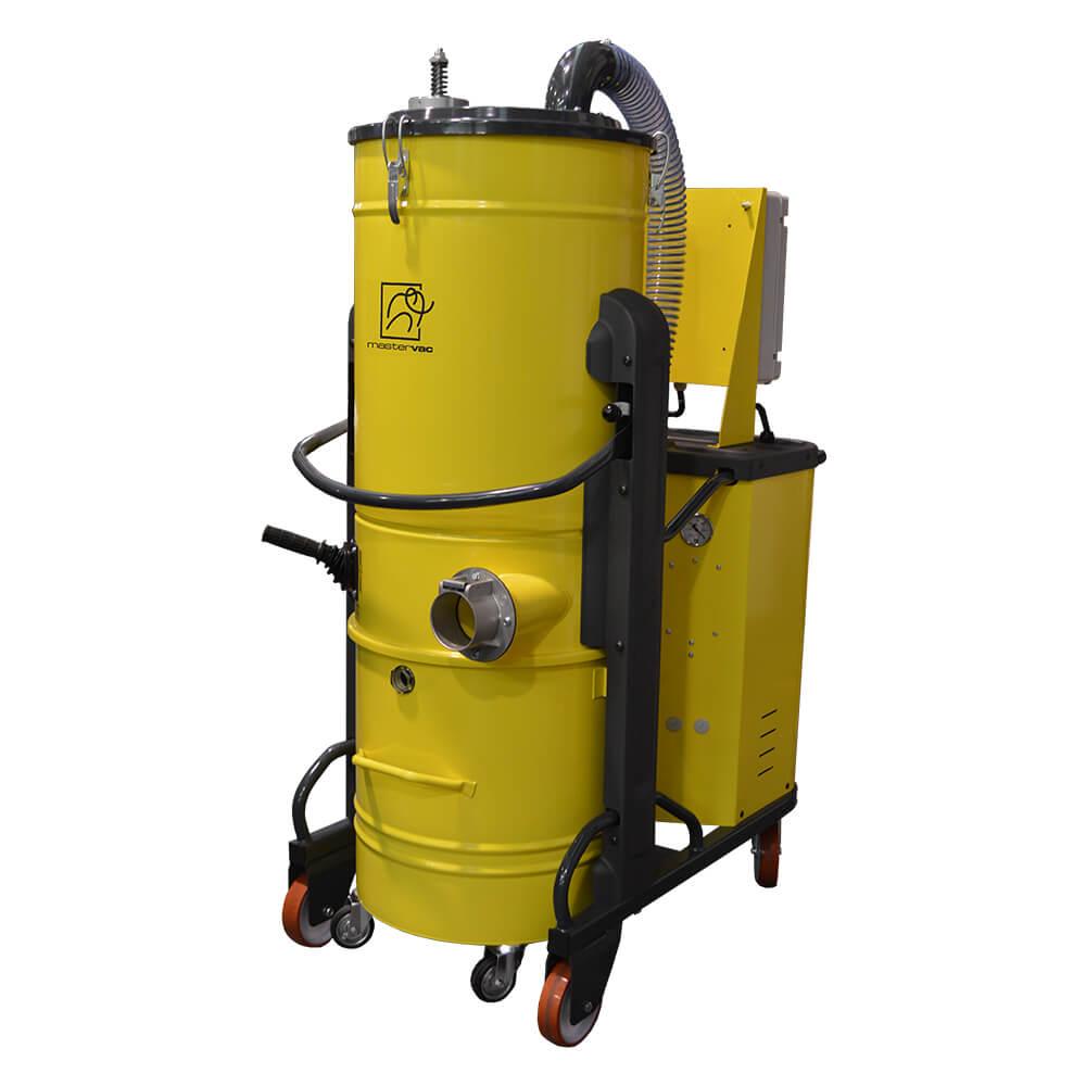 Индустриална трифазна прахосмукачка за прах и течности Mastervac TS 75